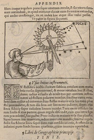 Volvelle «cadran nocturne», Fo. 50v