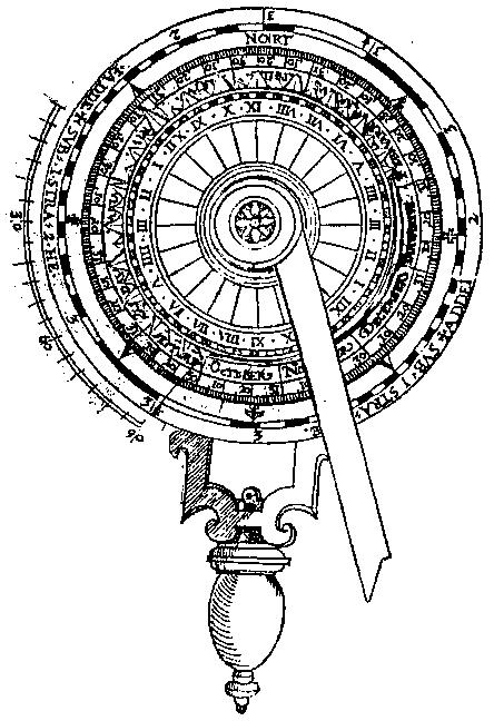 Volvelle «nocturlabe», p. 60