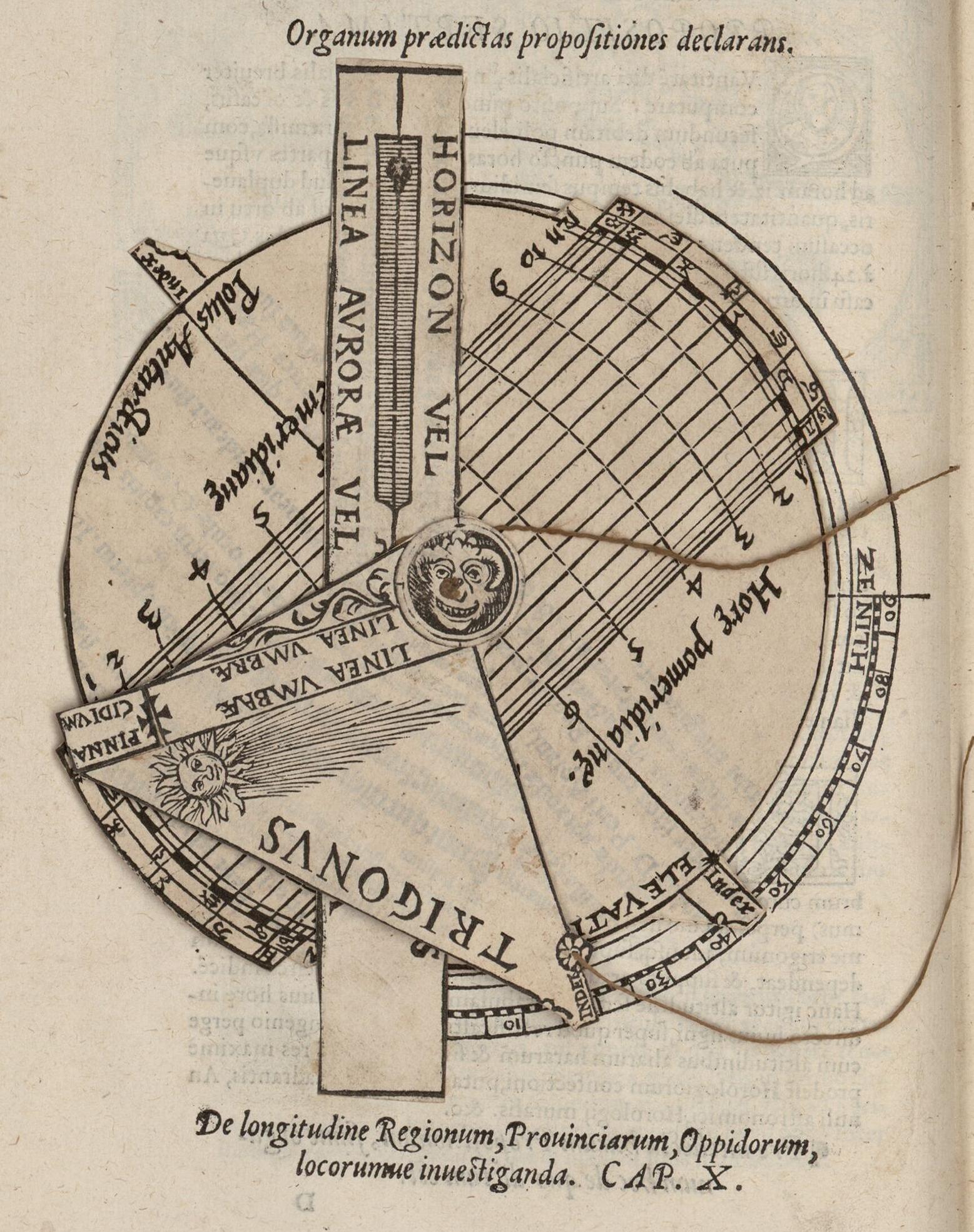 La volvelle «sphère plate universelle», Fo. 11v