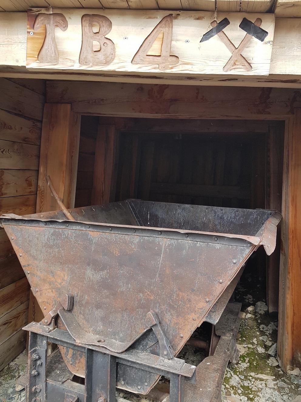 La mine fermée de Saint Véran