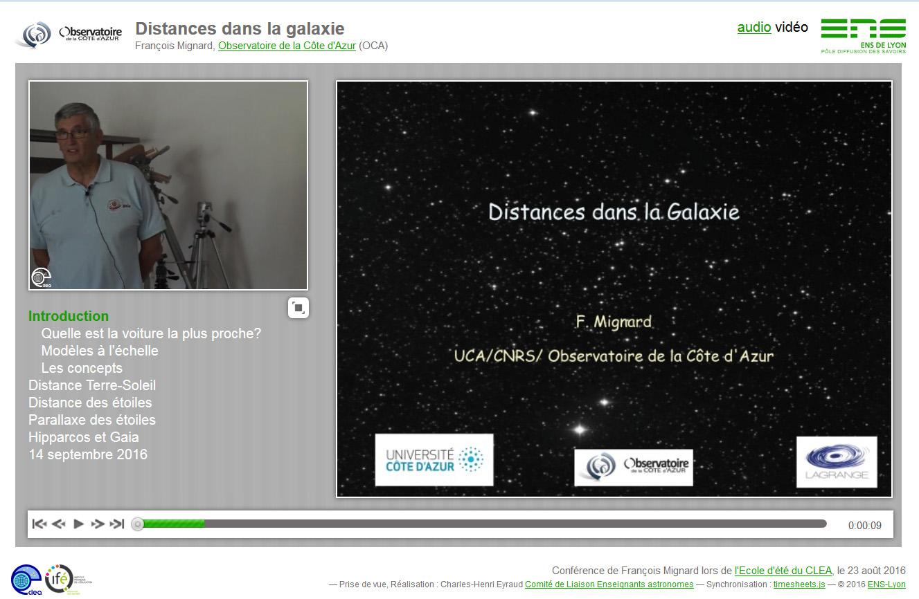 Conférence synchronisée audio ou vidéo