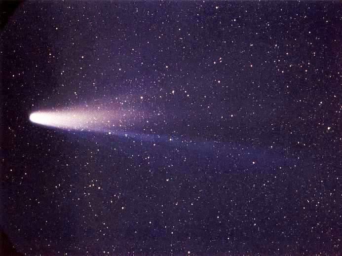 Comète de Halley photographiée par la sonde Giotto