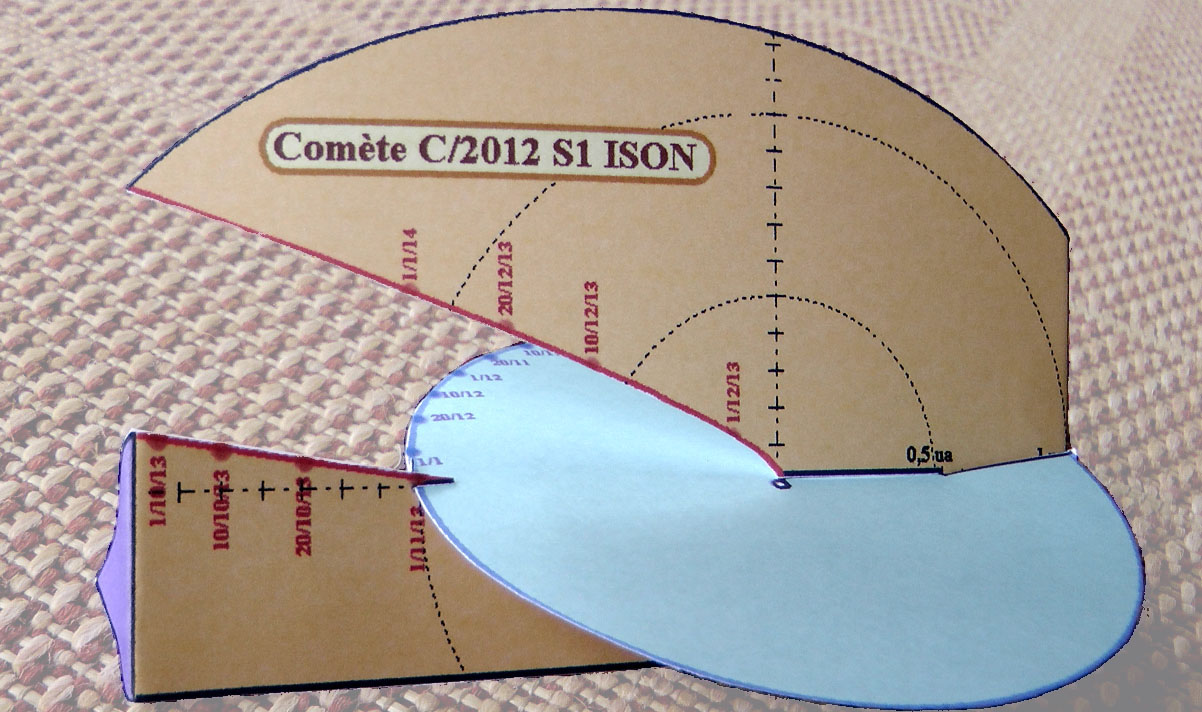 Maquette ISON (Cahiers Clairaut 141)