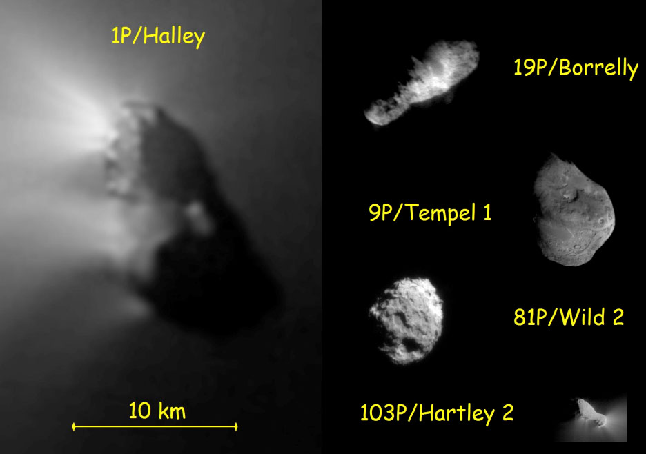 Noyaux cométaires