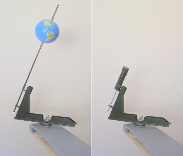 Remplacement de la Terre par un laser