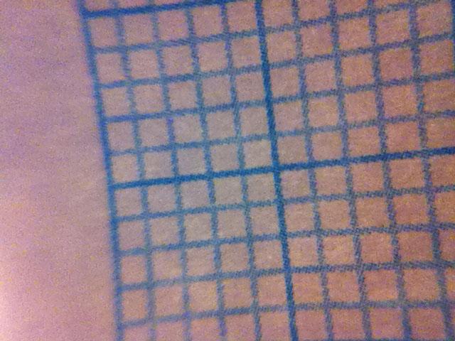 Image du papier millimétré