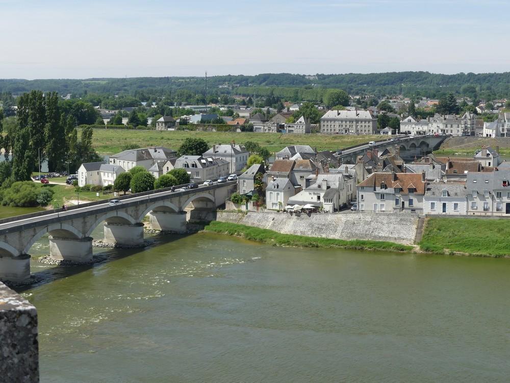 L'étiage de la Loire à Amboise
