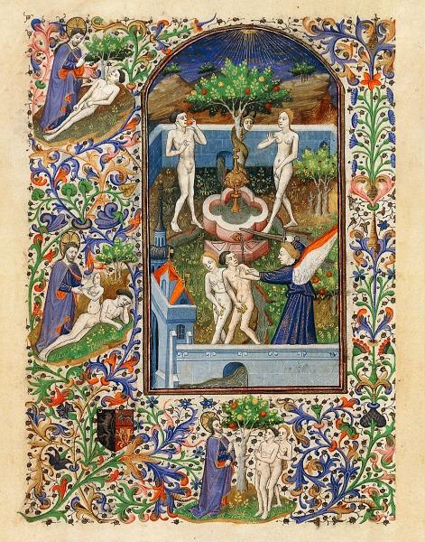 Adam et Eve au jardin d'Eden