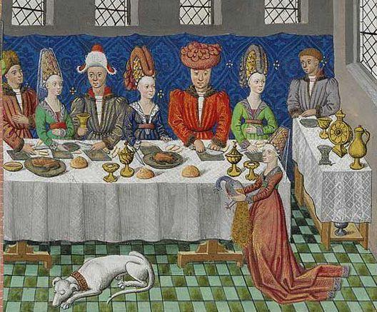 Le Banquet des vœux de Paon de Jean Wauquelin (atelier de Mons) 1448-1449