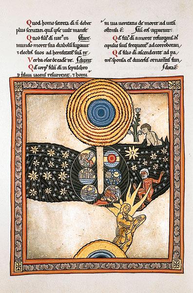 La vision de Sainte Hildegarde.