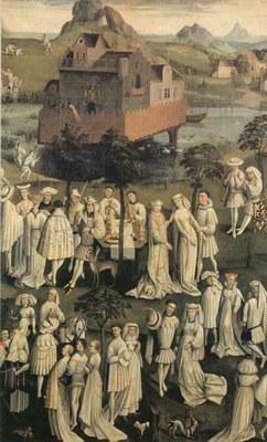 Mariage dans les jardins de Hesdin