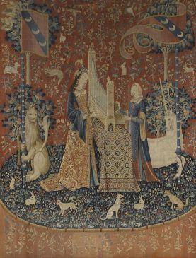 L'ouïe exposée au Musée de Cluny