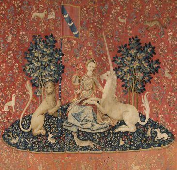 La vue exposée au musée de Cluny