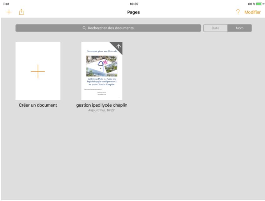 Figure 24: Visualisation des fichiers