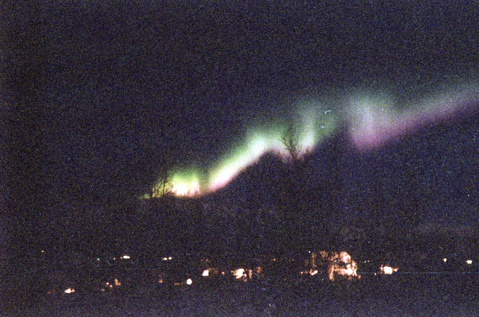 Aurora in Tromso Nov1995_2
