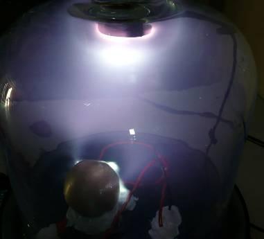Van Allen belt in our sphere